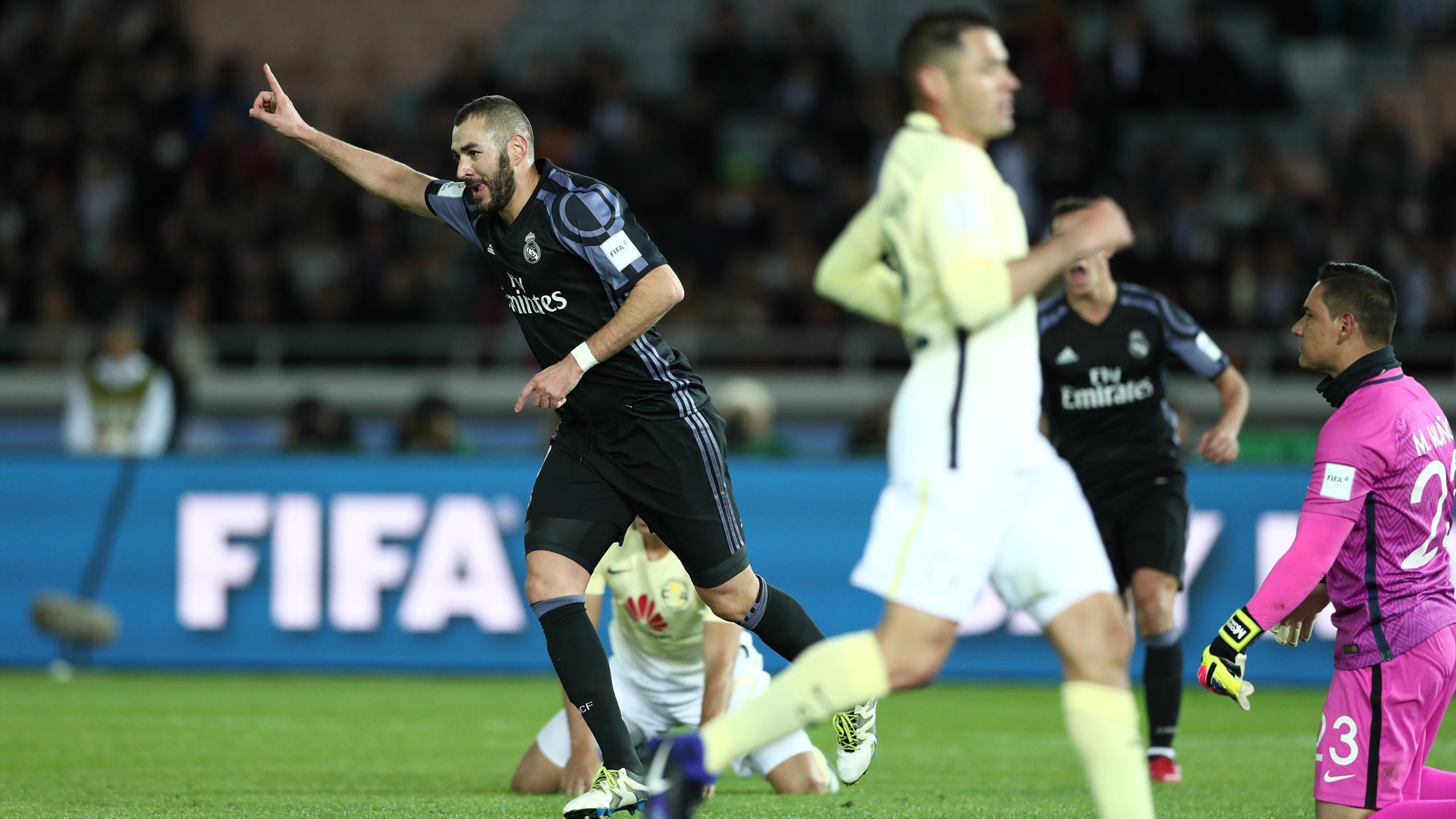 Karim Benzema, buteur en demi-finale de la Coupe du monde des clubs