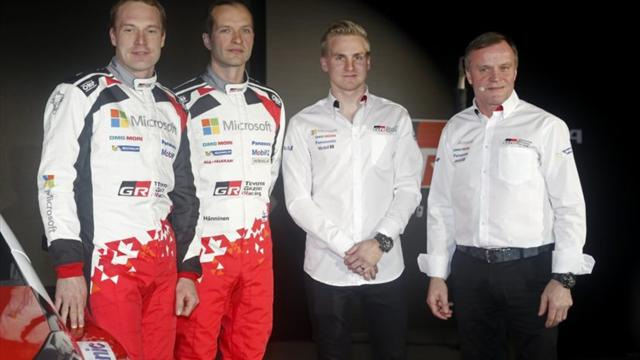 Lappi rejoint ses anciens compagnons de l'ERC, Breen et Lefebvre, au rang de pilote officiel en WRC