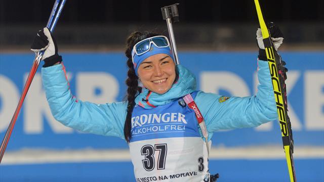 Akimova tops the podium in Nove Mesto sprint