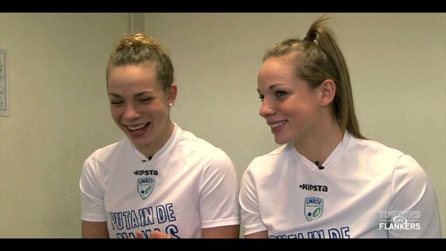 Les sœurs Ménager, les nouvelles bombes du rugby français