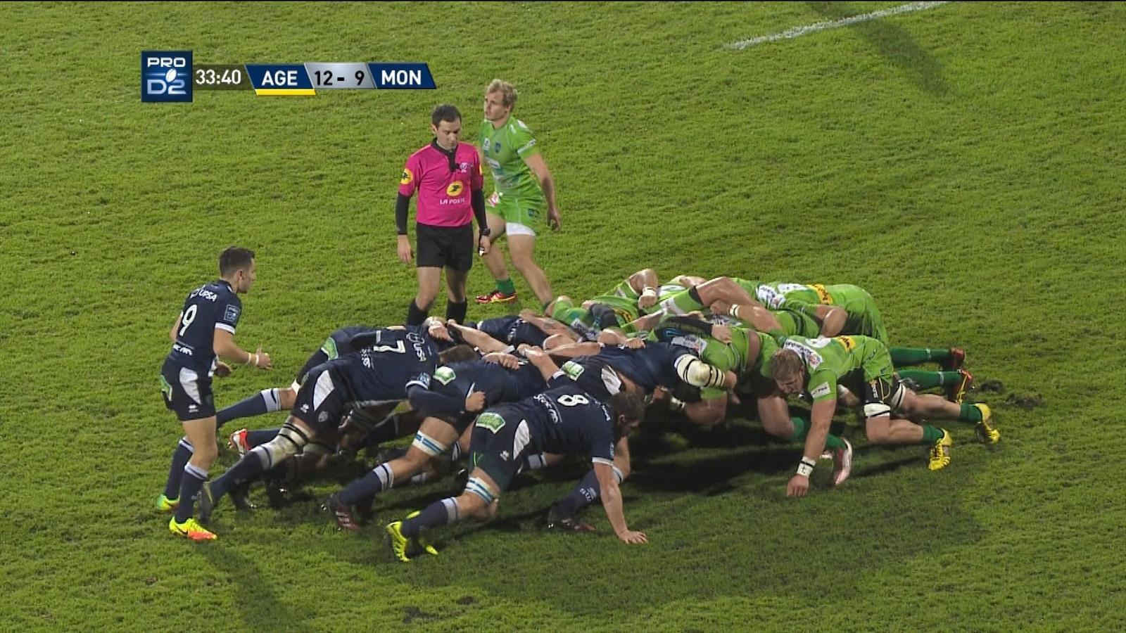 pro d2 rugby montauban agen