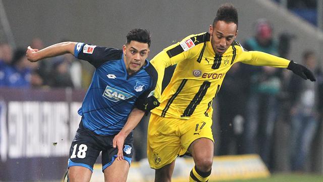 Le 100e but d'Aubameyang n'a pas suffi à Dortmund