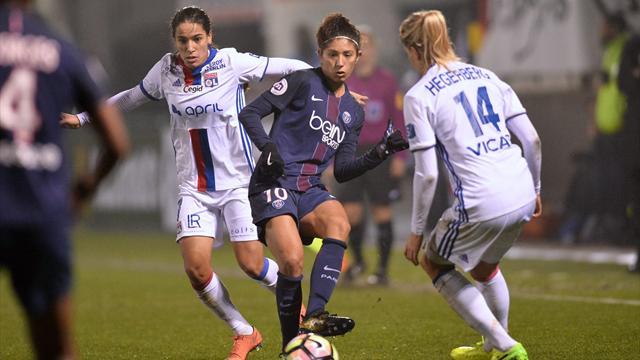 L'OL battu par le PSG — Foot féminin