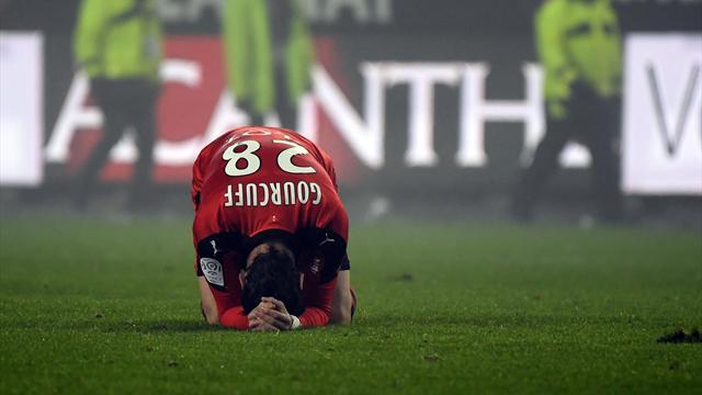 Rennes tombe de haut, Bordeaux boit la tasse