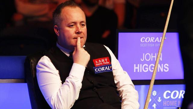John Higgins mit Ruhe, Erfahrung und hohen Breaks