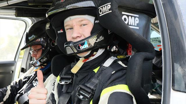 Evans: Rovanpera already quick enough for WRC
