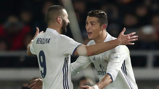 Le Real Madrid n'en finit plus de gagner