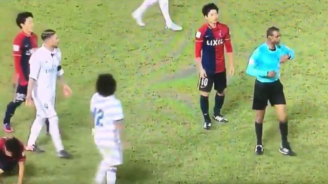 ¿Por qué el árbitro no expulsó a Sergio Ramos en el minuto 90?