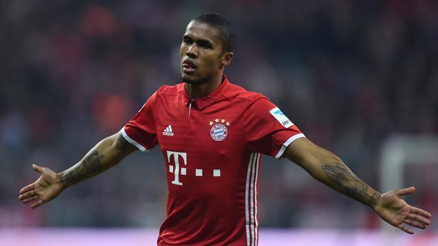 Un coup de canon de Douglas Costa permet au Bayern de recoller