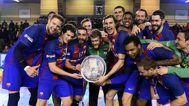 30-25. El Barcelona sigue ampliando su cosecha de títulos y de récords