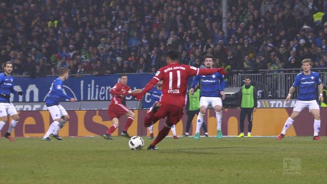 Top 5 Bundesliga goals: Costa rocket, Aubameyang does it again