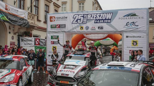 Récap de la saison : Kajetanowicz s'impose à domicile au Rally Rzeszow ERC