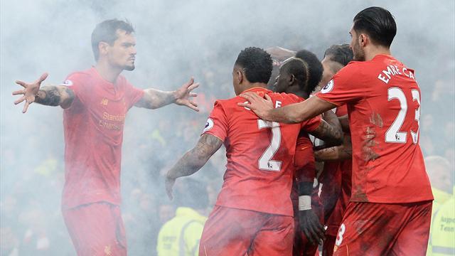 Une étincelle a suffi aux Reds