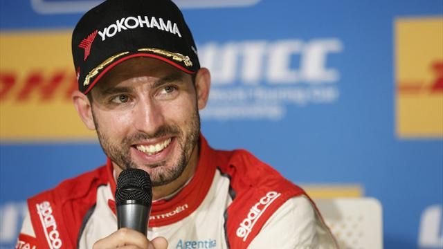 """""""Simplement dans une autre catégorie"""" : López recueille les suffrages des médias du WTCC"""