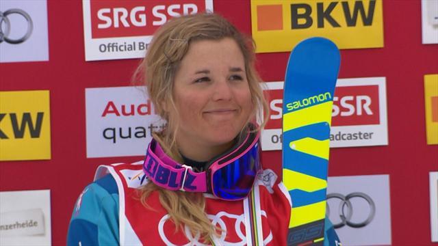 Swedish skier Anna Holmlund in coma after training crash