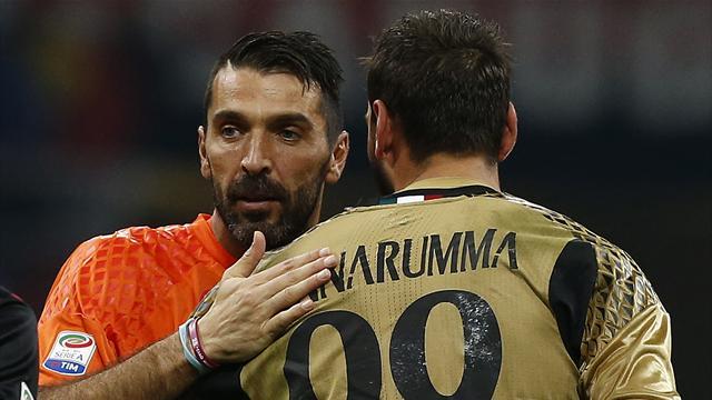 """Buffon 'consola' Donnarumma dopo le polemiche: """"Gli ho mandato un sms per ringraziarlo"""""""