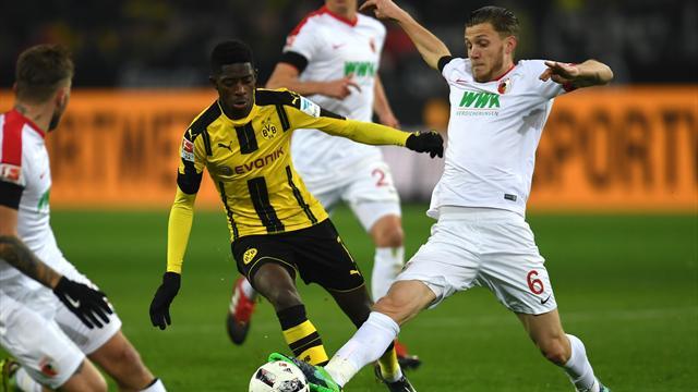 Le Borussia Dortmund accroché malgré Dembélé