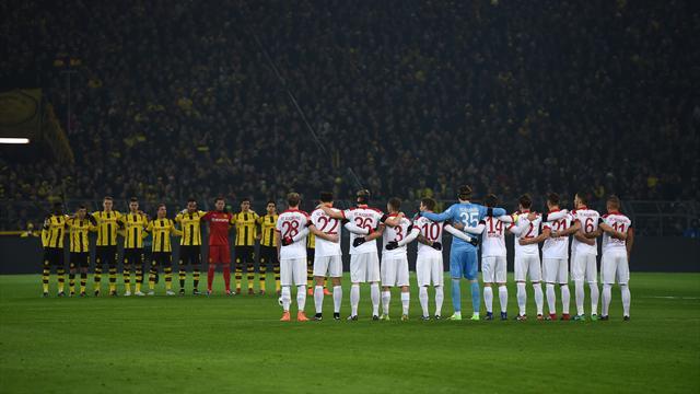 La Bundesliga se recueille en hommage aux victimes de l'attentat de Berlin