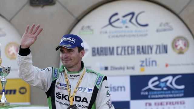 Plus de fun en ŠKODA pour l'ancien champion ERC Kopecký