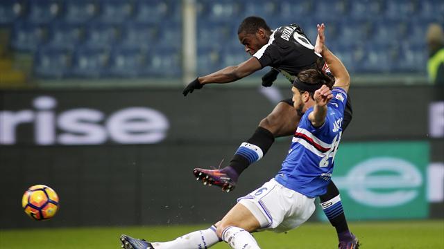 Udinese-Sampdoria: probabili formazioni e statistiche