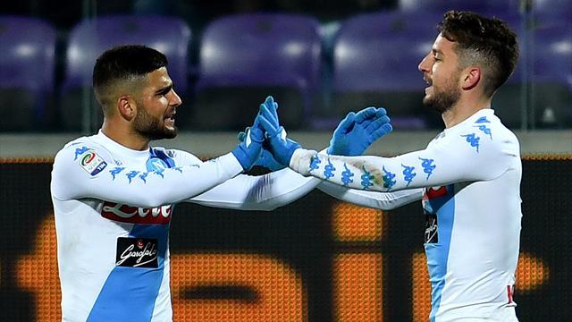 Rivales Champions: El Nápoles empata a la Fiorentina con un gol en el descuento (3-3)