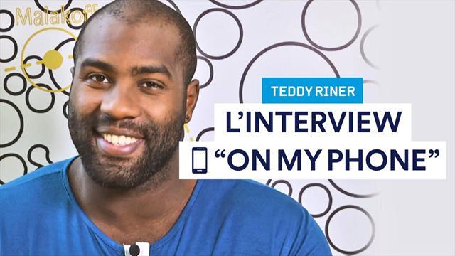 Dernier appel ? Contact le plus célèbre ? Bienvenue dans le téléphone de Teddy Riner