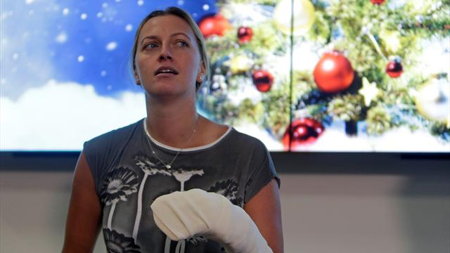 Kvitova enters French Open draw just months after being stabbed in the hand