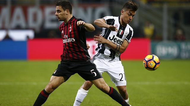 Suivez Juventus - AC Milan EN DIRECT sur Eurosport Player