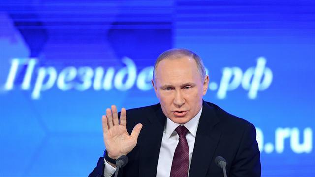 Путин, говоря одопинге, раскритиковал информаторов, удравших заграницу