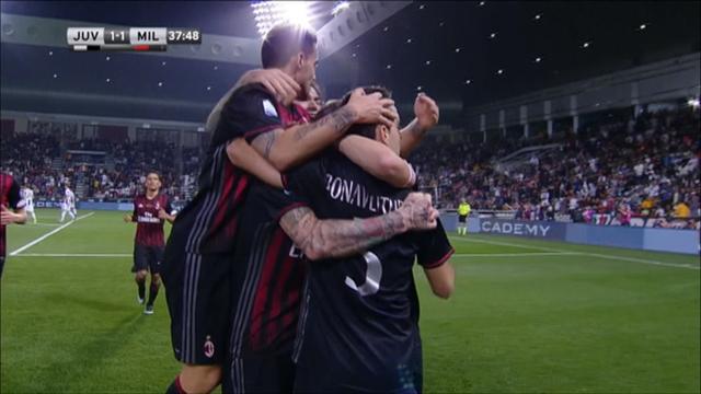 Une galette de Suso et une tête croisée de Bonaventura : l'égalisation de l'AC Milan