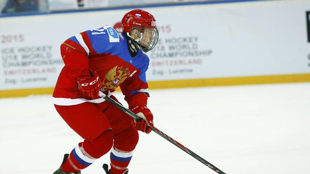 Молодежная сборная Российской Федерации вышла вполуфиналЧМ похоккею