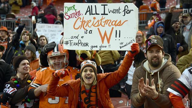 Magie de Noël : Les Browns ont gagné un match et les Giants sont en playoffs