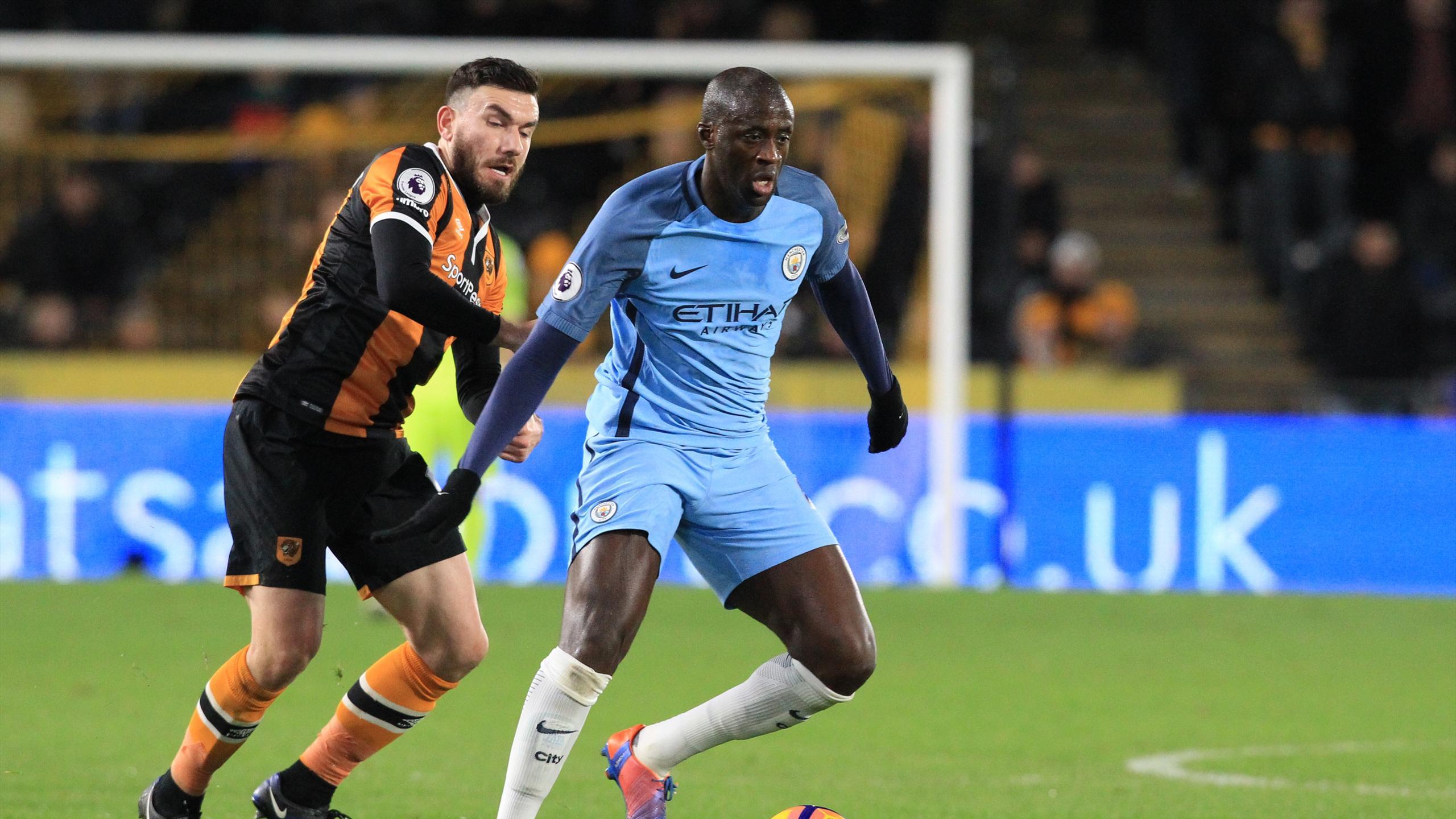 Yaya Touré (Manchester City) face à Robert Snodgrass