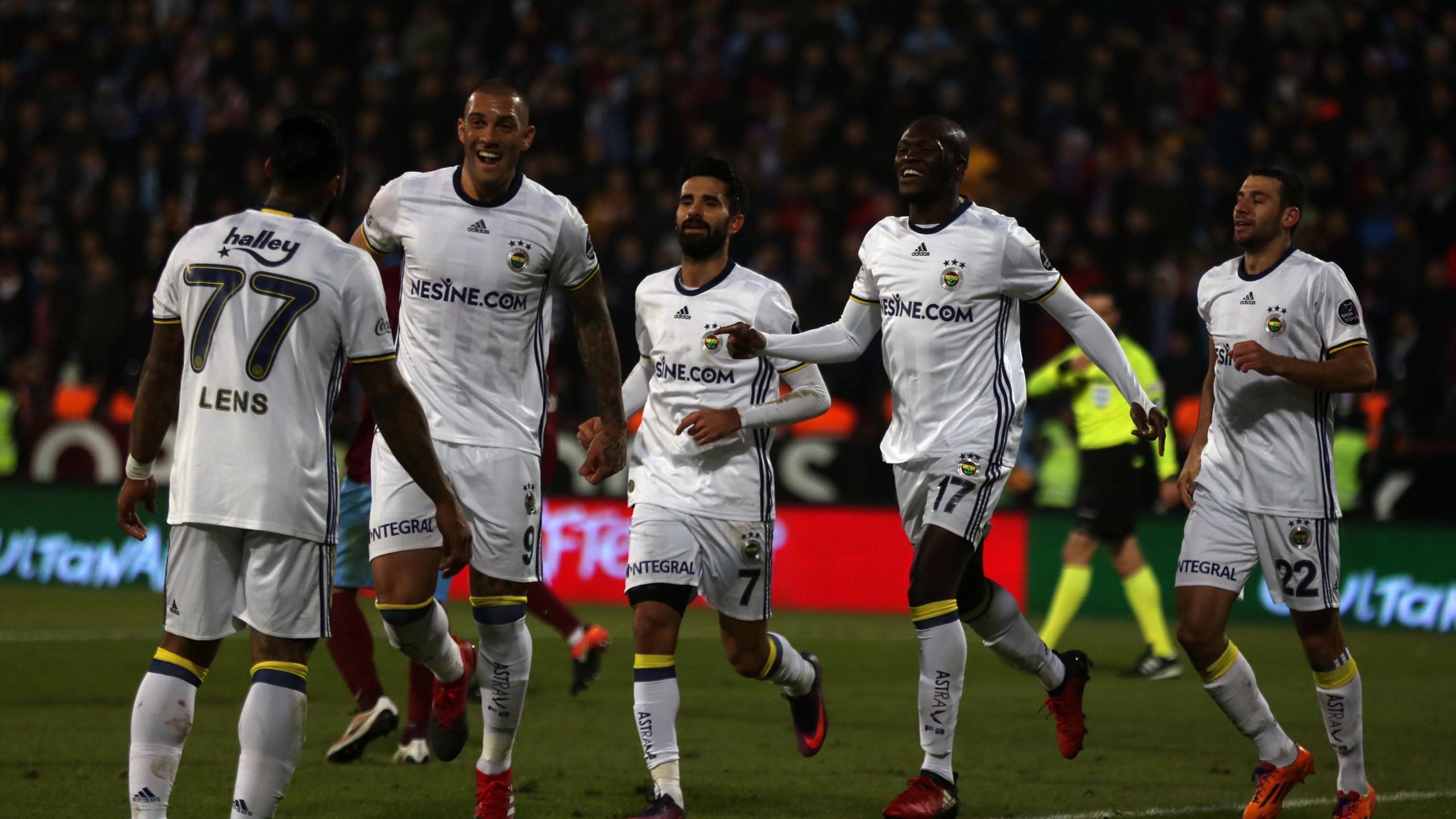 Trabzonspor - Fenerbahçe (Moussa Sow - Jeremain Lens)