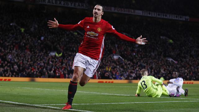 50 buts en 2016 : A Manchester, Ibrahimovic démontre qu'il peut être aussi déterminant qu'au PSG