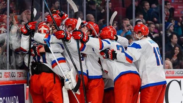 Российская Федерация вошла вчетверку фаворитов молодежногоЧМ похоккею