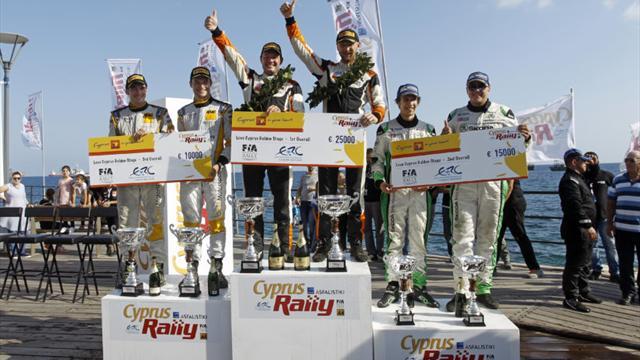 Récap de la saison : Lukyanuk remporte 32 000 € en triomphant lors du final de l'ERC à Chypre