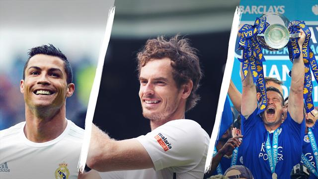 Murray named Eurosport's UK Star of the Year, Ronaldo takes global prize