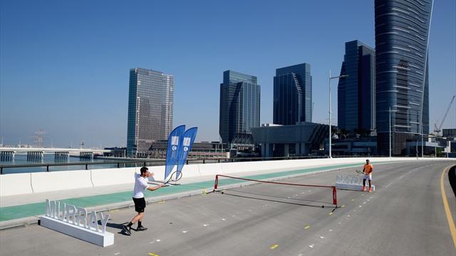 Надаль обыграл Раонича ивышел вфинал выставочного теннисного турнира вОАЭ