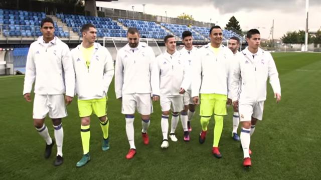 Quand Benzema, James et les stars du Real jouent à FIFA 17… en vrai