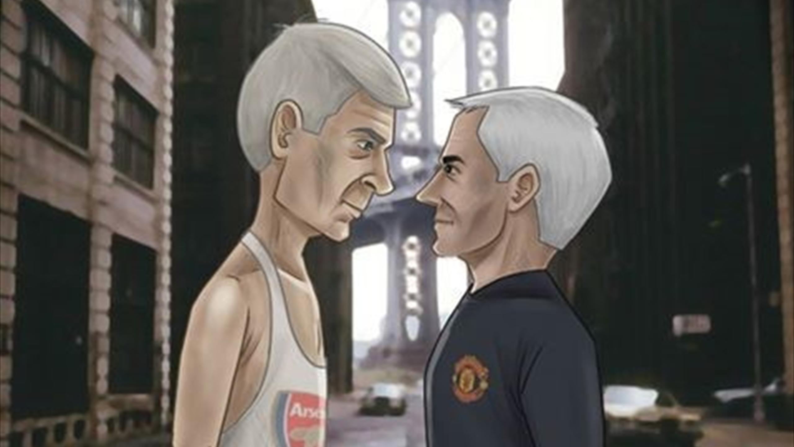 Arsene Wenger v Jose Mourinho - Part XVI - Let battle commence!