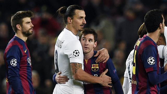 Zlatan : «Jouer avec Messi, c'est comme jouer à la PlayStation»
