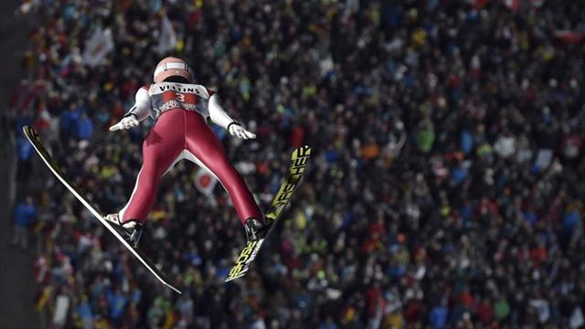 Stefan Kraft gana en Oberstdorf, Domen Prevc falla y su mejor hermano es Cene
