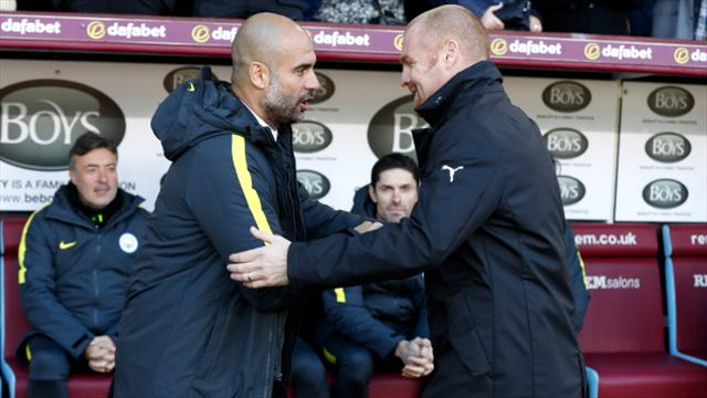 Even great like Guardiola has to adjust to Premier League - Dyche