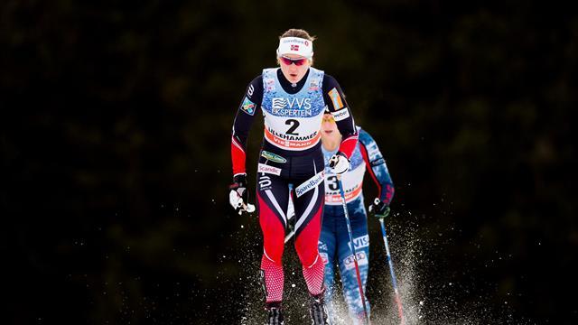 Oestberg battles back to take control of Tour de Ski competition