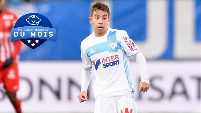 Pour vous, Lopez est le meilleur jeune de Ligue 1 du mois de décembre