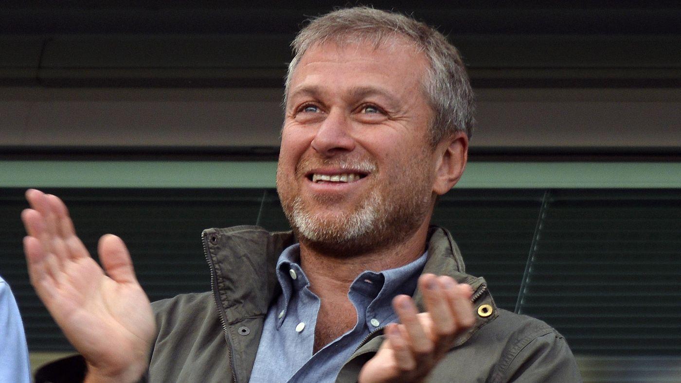 Chelsea owner Roman Abramovich applauds