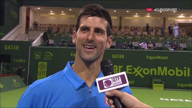 Djokovic : «Soyons clairs, ce n'était pas un grand début pour moi»
