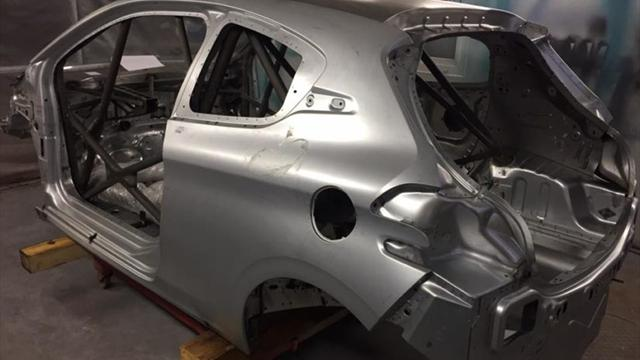 Nouvelle saison, nouvelle voiture pour Brož en Junior ERC