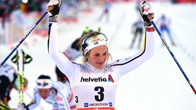 Nilsson grabs maiden win in Oberstdorf thriller